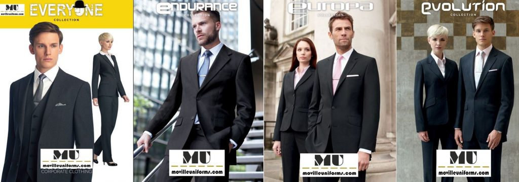View our Ranges of Business Suits