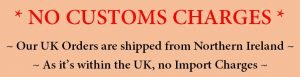 No customs tax