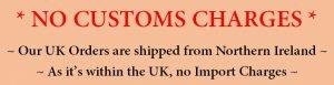 No customs tax
